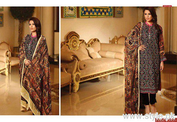 Shaista Cloth Winter Dresses 2015 For Women