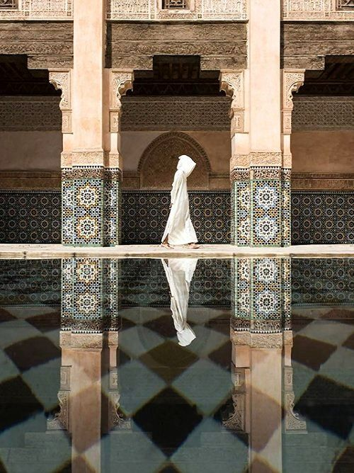 The Ben Youssef Madrasa in Marrakesh, Morocco   by Takashi Nakagawa
