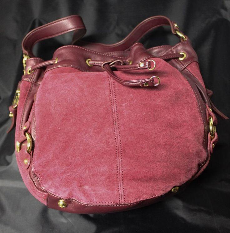 Tignanello Shoulder Bag.  Suede. by EmmaLousResalePlace on Etsy