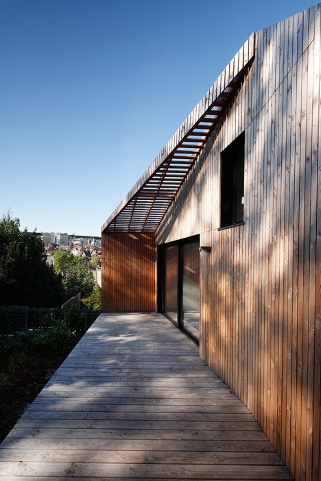 House in Meudon by CUT Architectures
