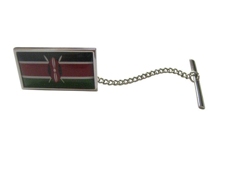 Kenya Flag Tie Tack