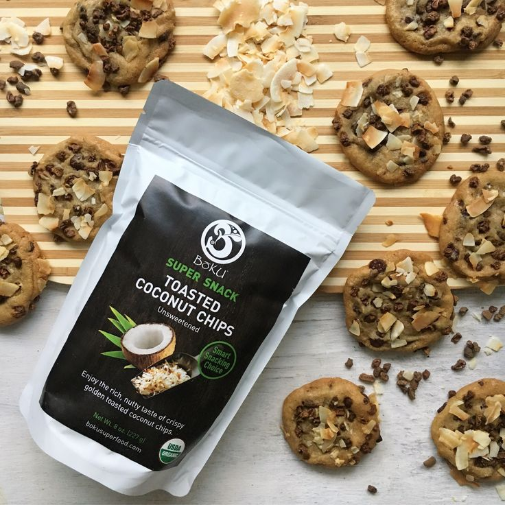 Super Cacao and Coconut Cookies - BōKU® Superfood