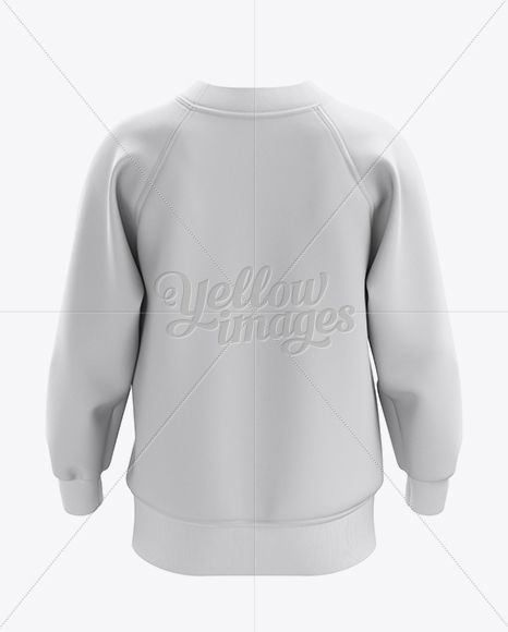 Sweatshirt Mockup - Back View