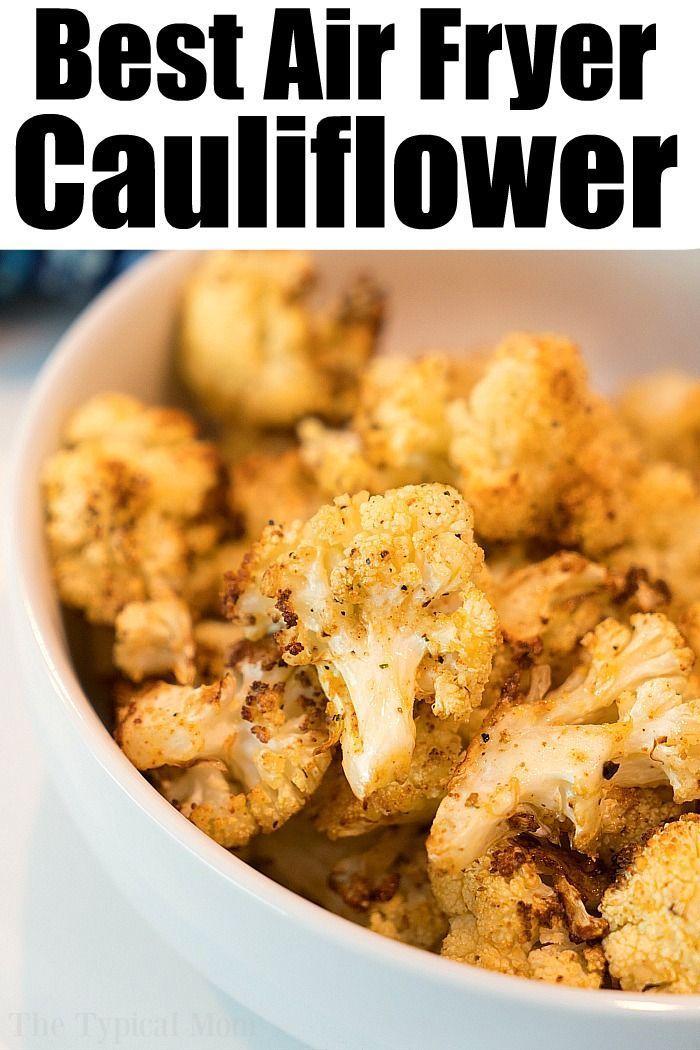 Air Fryer Cauliflower. airfryer cauliflower vegetables