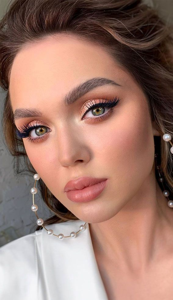 15 Beautiful Soft Neutral Makeup For Any Occasion | Engagement makeup,  Wedding eye makeup, Neutral makeup
