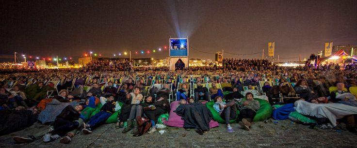 For open air cinema in Amsterdam, agreeable weather is a must, if not, watching a film in the outdoor can turn from a great night into torture.