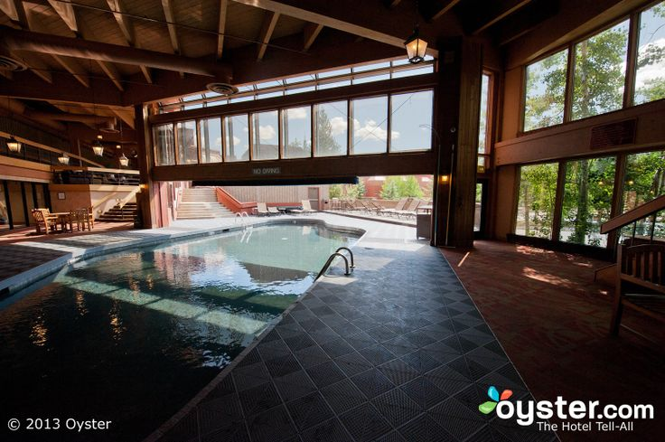 indoor pool | The Indoor-Outdoor Pool at the Beaver Run Resort & Conference Center ...