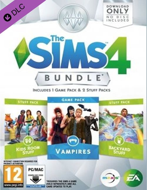 The Sims 4 - Bundle Pack 4  Worldwide Region: Worldwide Language: Multilanguage Platform: Origin  https://gamersconduit.com/product/the-sims-4-bundle-pack-4-origin-worldwide/