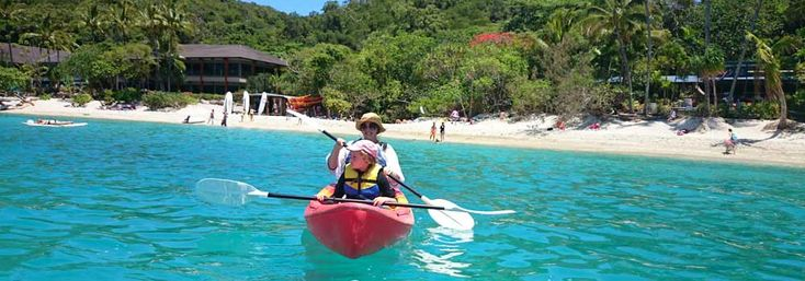 Sea kayaking one of many things to do on Fitzroy Island