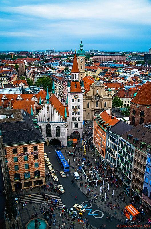 Old Town, Munich, Bavaria, Germany