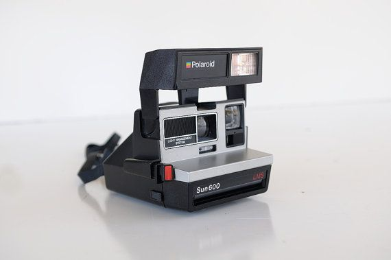 RARE Polaroid Sun  600 Land Camera  Instant by TheHeartTheHome