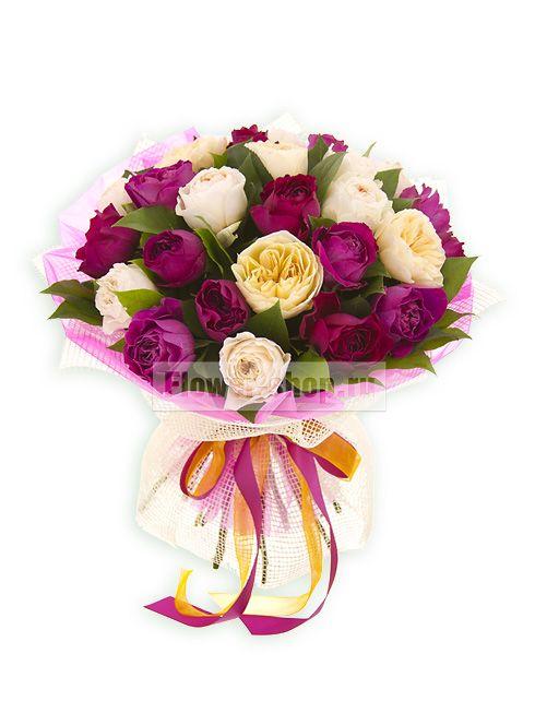 Букет «Коллекция роз Дэвида Остина»