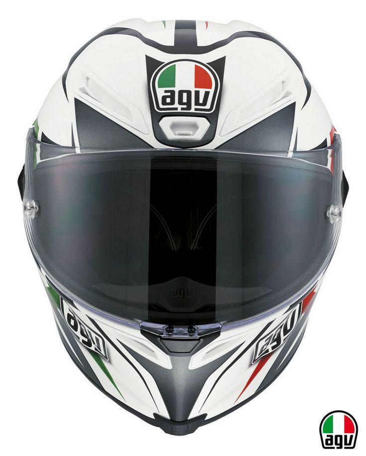 AGV Corsa - Velocity White/Black/Italy