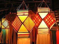 Kalat Nakalat..: How To Make Lantern(Akash Kandil)