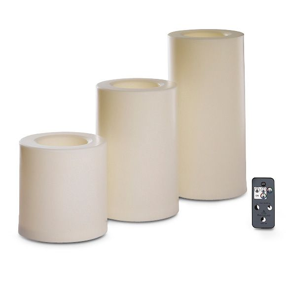 White Light Illusions Color Changing Outdoor Led Pillar
