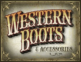 Western Style Fonts
