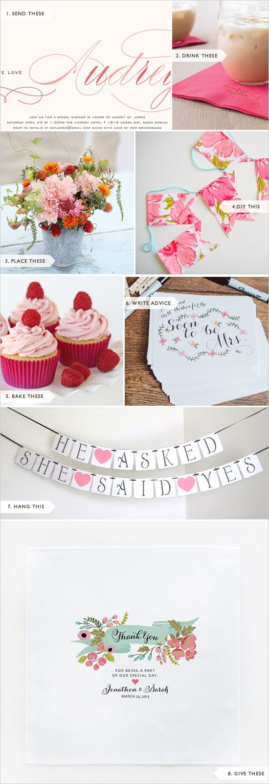 wedding shower poem ideas%0A Easy Bridal Shower Ideas