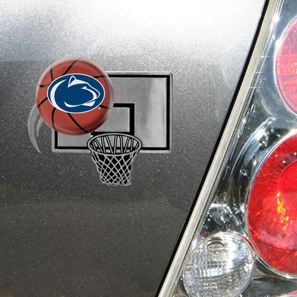 Penn State Nittany Lions Metal Hoop Domed Auto Emblem