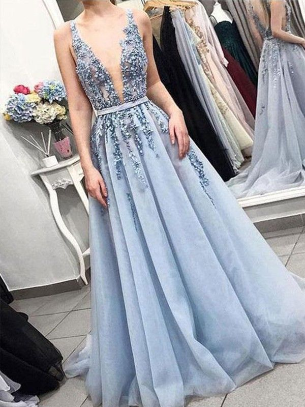Amiable 2019 New Arrival Reception Dress Sexy V Neck Mermaid Red Chiffon Custom Made Red Carpet Open Back Formal Long Prom Dresses Choice Materials Weddings & Events