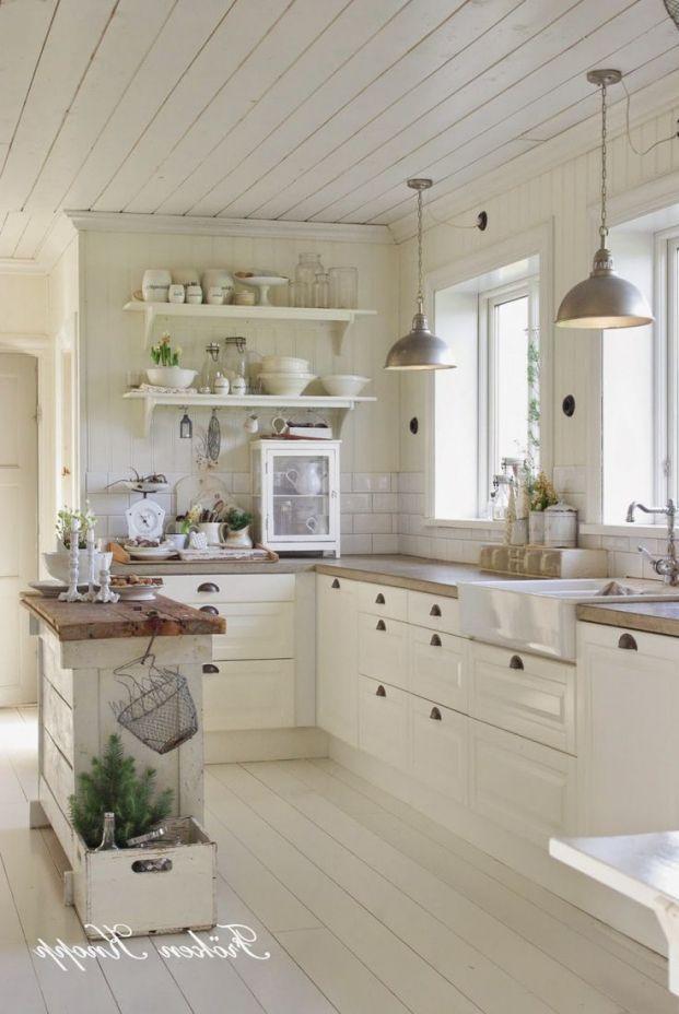 Schönes schönes Haus  dekoration franzoesischer landhausstil