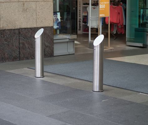 With a vast array of architectural / designer buildings. These photos focus on designs of fixed and removable security bollards found around Australia