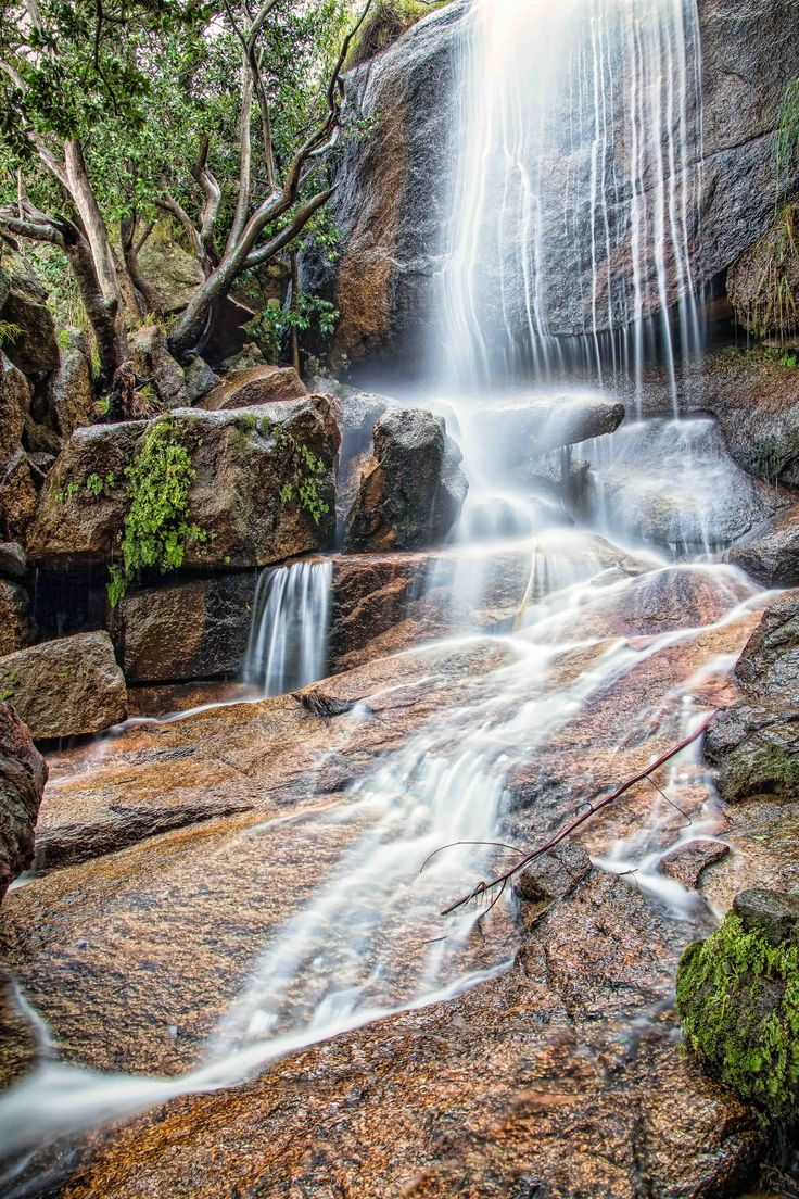 Find this waterfall on a hiking trail in the Paarl Mountain Nature Reserve.