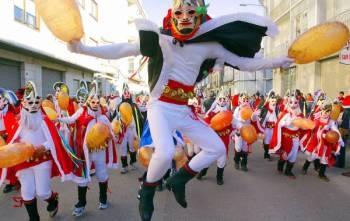 Entroido (Carnaval) en Xinzo de Limia. Ourense. Galicia. España.