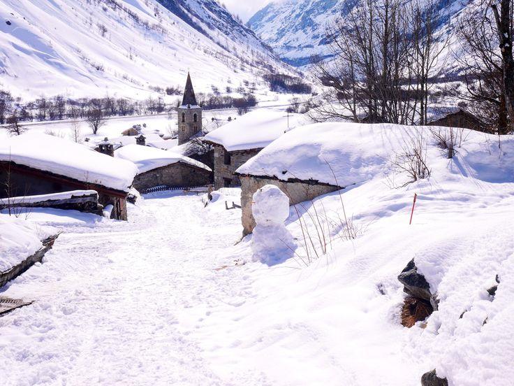 Bonneval, Haute Maurienne, photo prise par Valérie Coutrot.