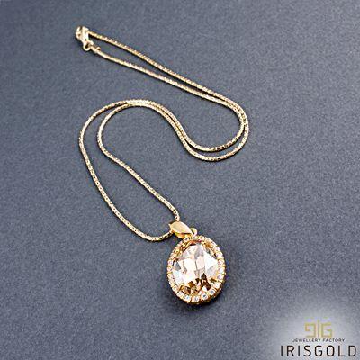 Necklace Oval Swarovski