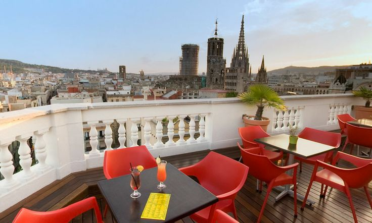 Sunset Lounge Bar - Cathedral View #h10 #h10hotels