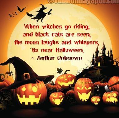 Bon Happy Halloween Fun Quotes