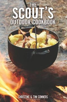 A guide to cooking while camping provides hundreds of recipes for all kinds of meals that can be made using dutch ovens, camp stoves, fire pits, and grills, or that do not require cooking at all.