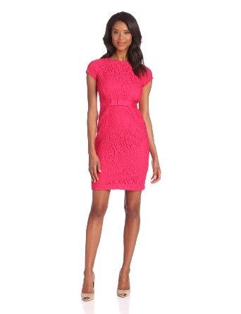 Taylor Women's Lace Sheath Dress --- http://www.amazon.com/Taylor-Womens-Sheath-Dress-Fuchsia/dp/B00BWIH17O/?tag=thebost0e-20