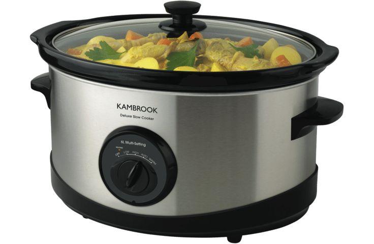 Kambrook KSC120 Deluxe 6L Slow Cooker :: $49.00
