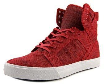 Supra Skytop Round Toe Canvas Skate Shoe.