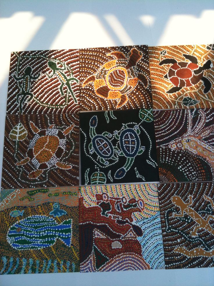 Aboriginal prikbilleder