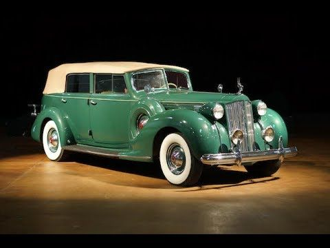 1938 PACKARD 1608 TWELVE CONVERTIBLE SEDAN - YouTube