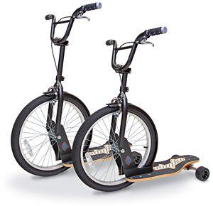 scooter + skateboard + bike = sbyke