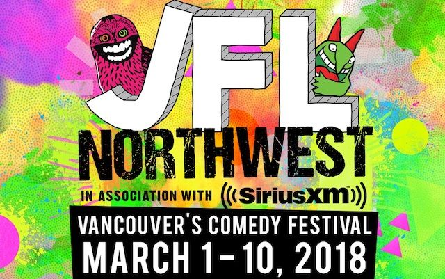 """Vancouver's comedy festival, JFL NorthWest, presented in association with SiriusXM, returns for a third year of hilarity from Thursday, March 1st to Saturday, March 10th, 2018 at multiple venues across Vancouver. Win tickets to see Ryan Hamilton, named one of Rolling Stone's """"Five Comics to Watch""""!"""