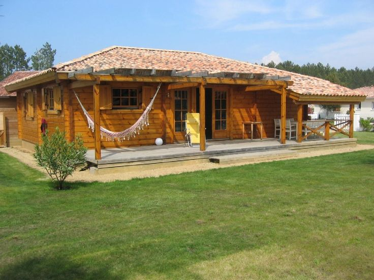 Super Les 13 meilleures images du tableau maison landaise bois sur  JH95