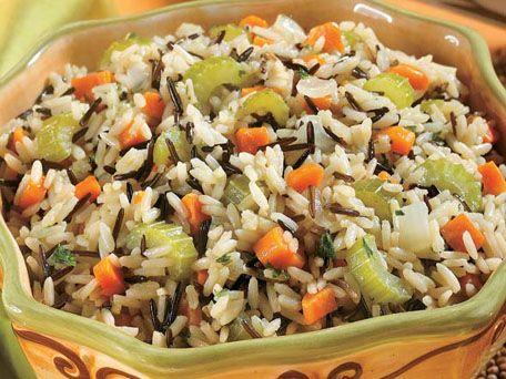 White & Wild Rice Pilaf