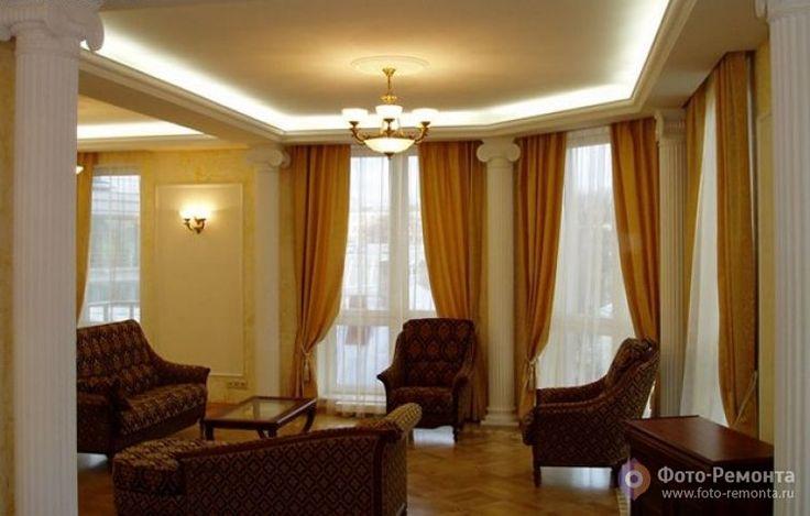 Классический стиль: дизайн интерьера гостиной