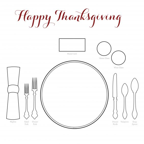 This Simple Place Setting Is The Perfect Way To Help You
