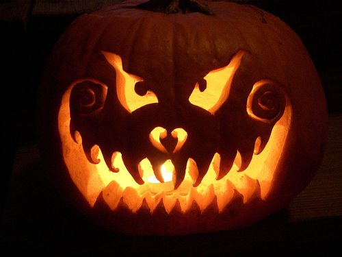 pumpkin faces | The Best Halloween Pumpkins | Interflora