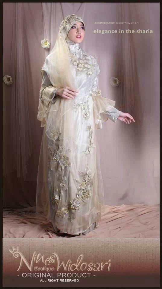 moslem bride by nines widosari