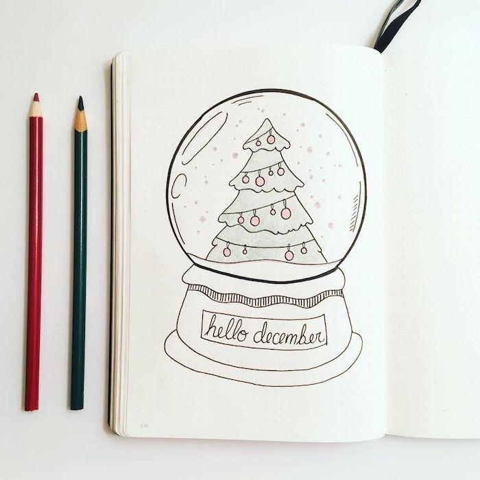 1001 Idees De Dessin De Noel Faciles A Faire Soi Meme Dessin Noel Dessin De Noel Facile Page De Couverture