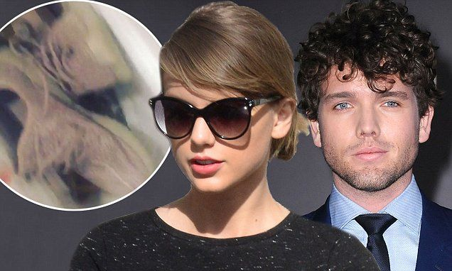 Taylor Swift's brother Austin puts his $950 Yeezy trainers in the bin