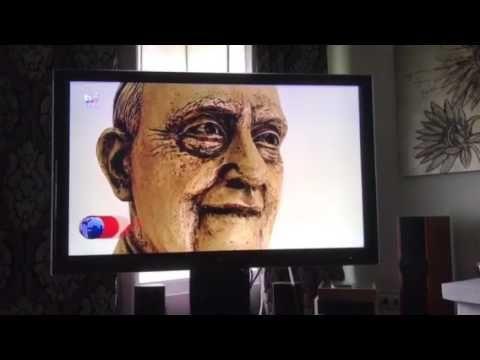 Reportagem TVI, Escultura de Rui Goulart