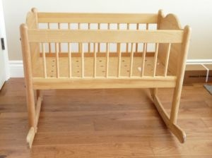 Wood rocker crib - Edmonton Baby Items For Sale - Kijiji Edmonton Canada.