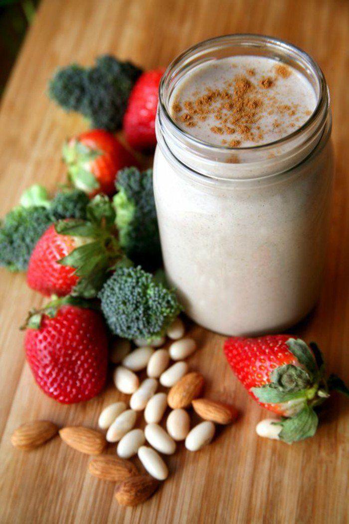 recette de smoothie pour récupérer ses forces après l entrainement, smoothie aux légumes et fruits